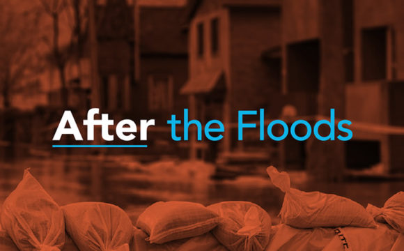 "A photo which reads ""After The Floods""."