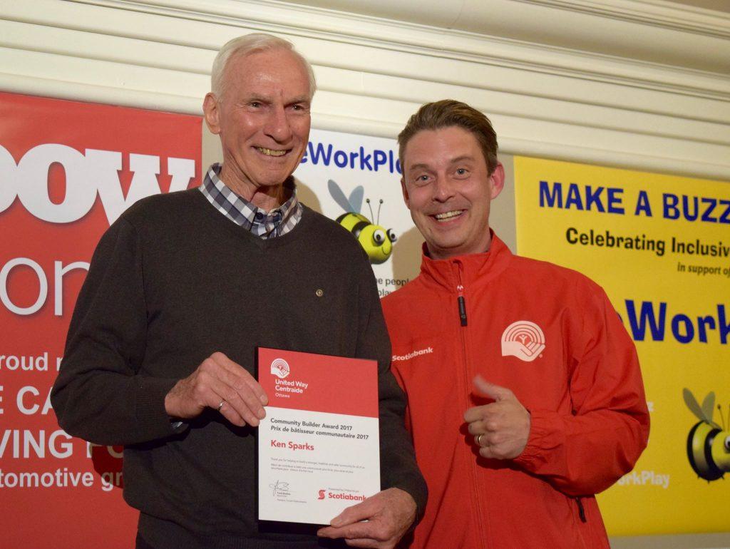 Ken Sparks volunteers