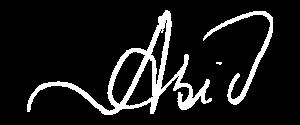 Abid's signature